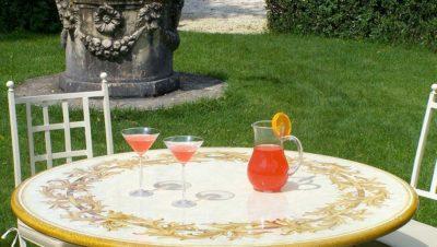 Tavolo in ceramica Altamura - dettaglio4