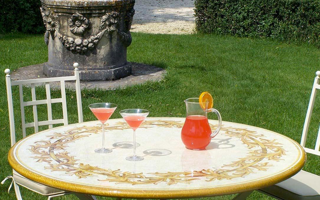 Tavoli rotondi da giardino - Giardini Italiani