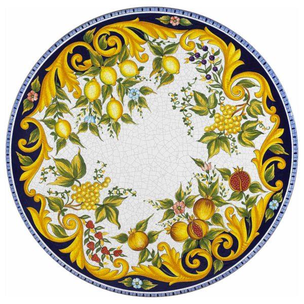 tavolo esterno pietra Vietri
