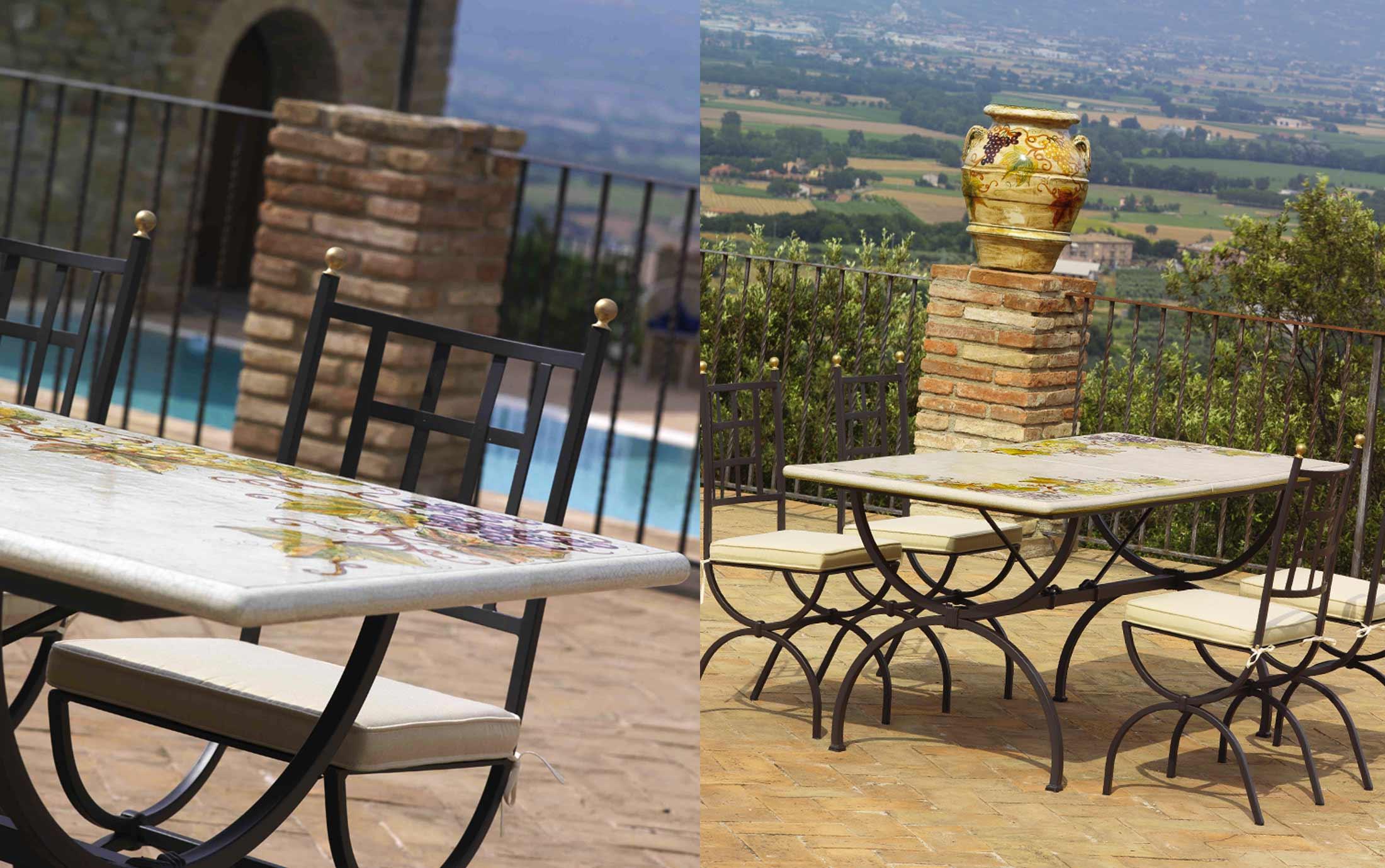 Prezzi tavoli da giardino giardini italiani - Tavoli per giardino ...
