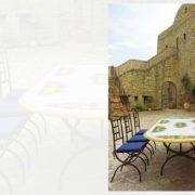 tavoli da giardino ceramica Napoli