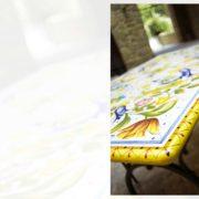 tavoli da giardino in ferro battuto e ceramica Pisa