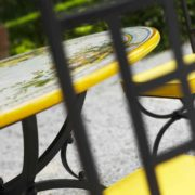 tavoli ferro battuto e pietra tropea