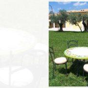tavolo esterno Cortina