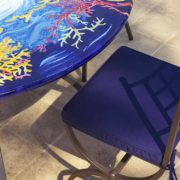 tavolo giardino ceramica Nizza